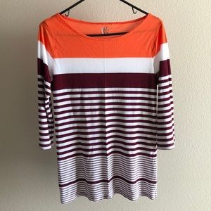 JcP stripped tunic
